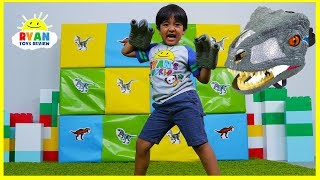 Download Giant Smash Surprise Jurassic World Dinosaurs Toys!!! Video