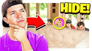 Download HIDE & SEEK IN REAL LIFE! vs MY WIFE, SISTER & LITTLE BROTHERS Video