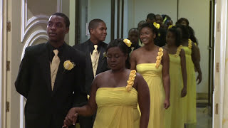 Download Bridal Party Processional at A Haitian Wedding Ceremony in Toronto   GTA Videography Photography Video