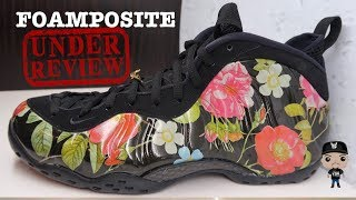Download Nike Foamposite One Floral Sneaker Detailed Look Review #SneakerNews Video