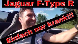 Download Beste Probefahrt 4Ever! Jaguar F Type R - Sound ist der Wahnsinn! Awesome! V8- Deutsch - Cabrio 😄 Video