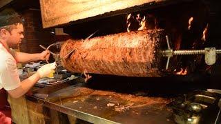 Download Wood Fired Turkish Doner Kebab Video