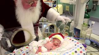 Download Santa Claus visits the NICU at Via Christi Hospital St. Joseph Video