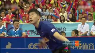 Download Joo Sae Hyuk(Defence) vs Ma Long(Attack) 2016 China Super League HD Video
