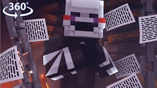Download 360° Five Nights At Freddy's - PUPPET VISION - Minecraft 360° Video Video