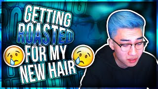 Download Getting ROASTED For My NEW HAIR Video