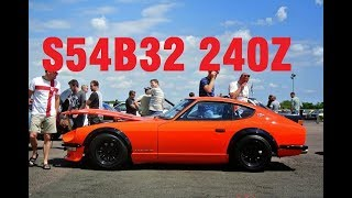 Download Datsun 240Z Rebuild and S54B32 Swap Project Video