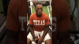 Download Texas safety DeShon Elliott after Iowa State win Video