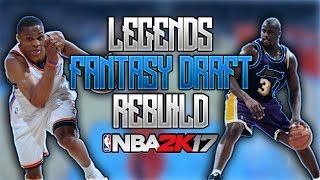 Download NBA 2K17 MY LEAGUE: LEGENDS FANTASY DRAFT REBUILD!! DRAFTING HALL OF FAMERS!?!? Video