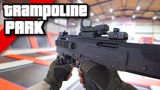 Download Airsoft War FPS: Insane Trampoline Park Shootout! | TrueMOBSTER Video