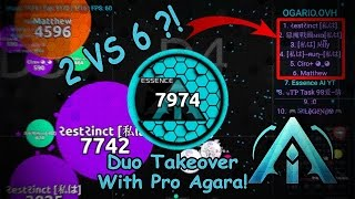 Download Agar.io // Guest Video #1 by [A.I.] clan - 2 vs 6?! Video
