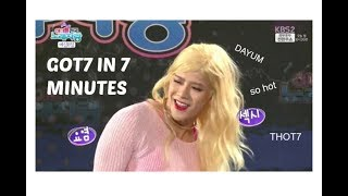 Download GOT7 IN SEVEN MINUTES Video