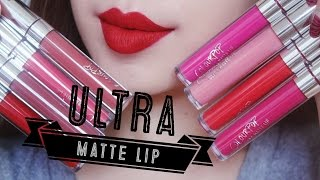 Download [SWATCH + REVIEW] COLOURPOP ULTRA MATTE LIP (WITH CC ENGSUB) Video