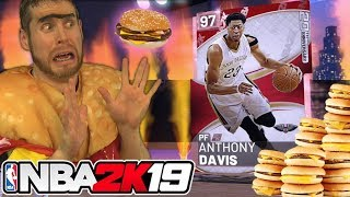 Download I became a Cheeseburger for NBA 2K19 Video
