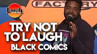 Download Try Not To Laugh | Black Comics | Laugh Factory Stand Up Comedy Video