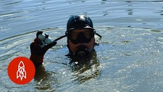 Download Diving For Golf Balls in America's Most Famous Water Hazard Video
