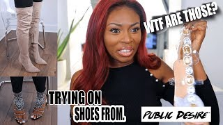 Download UNBOXING SHOES FROM PUBLIC DESIRE....WHAT ARE THOSE? BLACK FRIDAY READY Video
