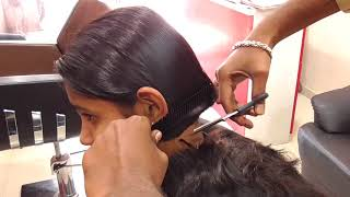 Download Long to short haircut / Blunt cut for girls Video