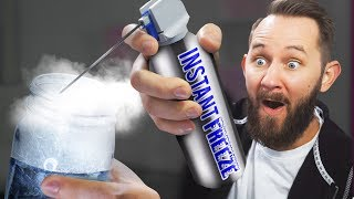 Download INSTANT Freeze Spray! | 10 Strange Amazon Items Video