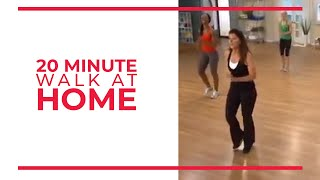 Download 20 Minute Walk at Home Exercise | Fitness Videos Video