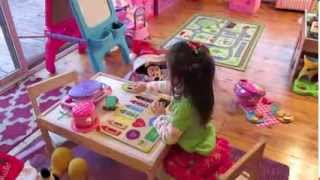Download New Playroom Tour!! Toy Station Organization Video