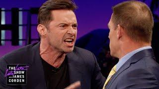 Download John Cena Teaches Hugh Jackman Reverse Trash Talking Video