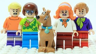 Download Lego Scooby Doo Wrong Heads Changing Bodies Machine Cartoon Video
