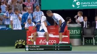 Download RESUMEN Ivo Karlovic (CRO) v Federico Delbonis (ARG) Video