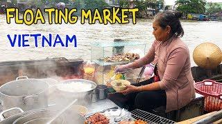Download NOODLES on a Boat: FLOATING MARKET Tour of Mekong Delta VIETNAM Video