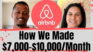 Download We Made $7,000-$10,000/Mo. Hosting on AirBnB | Our Tips for Successful AirBnB Hosting Video