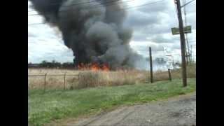 Download Carlstadt,nj Fire Department Multiple Alarm Brush Fire Part 1 of 2 Video