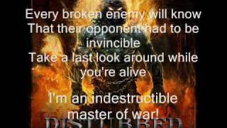 Download Disturbed - Indestructible (lyrics) Video