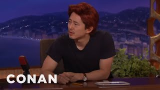 "Download Steven Yeun Already Has A New Post ""Walking Dead"" Job - CONAN on TBS Video"
