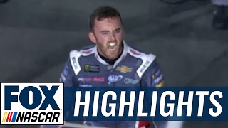 Download Austin Dillon Outlasts Jimmie Johnson in Fuel to Win at Charlotte | 2017 CHARLOTTE | FOX NASCAR Video