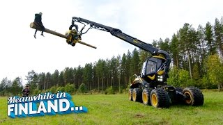 Download FOREST MACHINE RODEO - Meanwhile In Finland EP 1 | Dudesons Video