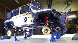 Download RC ADVENTURES - Mini Jack Stands Support New Axle Weights - Install & Lessons - Traction Video