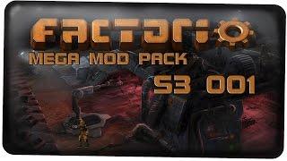 Download Start mit dem ShadowMegaModpack - Factorio (S3) #001 [Mega Mod Pack German Deutsch Lets Play] Video