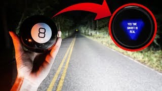 Download we used a magic 8 ball on clinton road... (confirmed the ghost is real) Video
