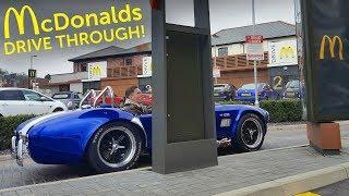 Download I Took My Cobra through a McDonald's Drive Through! Video