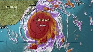 Download Taiwan Super Typhoon Nepartak forces thousands to evacuate Video