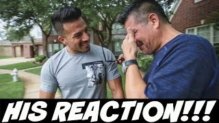 Download I Bought My Dad A Car... This is His Reaction!!! Video