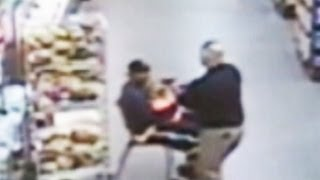 Download Police Officer Saves a Child From Possible Abduction   ABC World News   ABC News Video