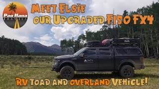 Download Meet Elsie our upgraded Ford F150 FX4 a Overland Motorhome Tow Vehicle Video