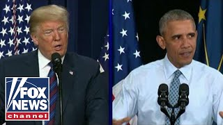Download Trump, Obama face off on the campaign trail this fall Video