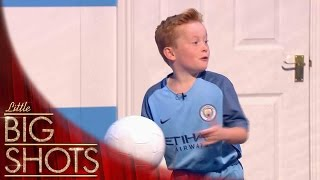 Download Tiny Footballer Recreates His Favourite Goals | Little Big Shots Video