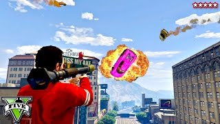 Download GTA 5 Flying Zentornos!! EPIC RPGs Vs Stunters Showdown (GTA 5 Funny Moments) Video