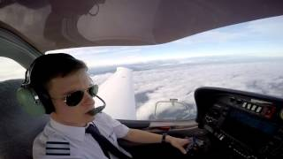 Download [HD] ATP training - enjoying the first IFR flights - Cannes Aviation ATO Video