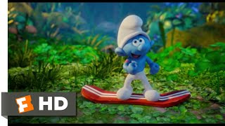 Download Smurfs: The Lost Village (2017) - Branch-Boarding Scene (2/10) | Movieclips Video