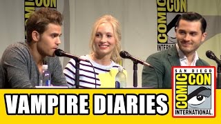 Download THE VAMPIRE DIARIES Comic Con Panel 2015 Video
