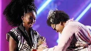 Download Brandy Named 'Lady Of Soul' At Soul Train Awards 2016 Video